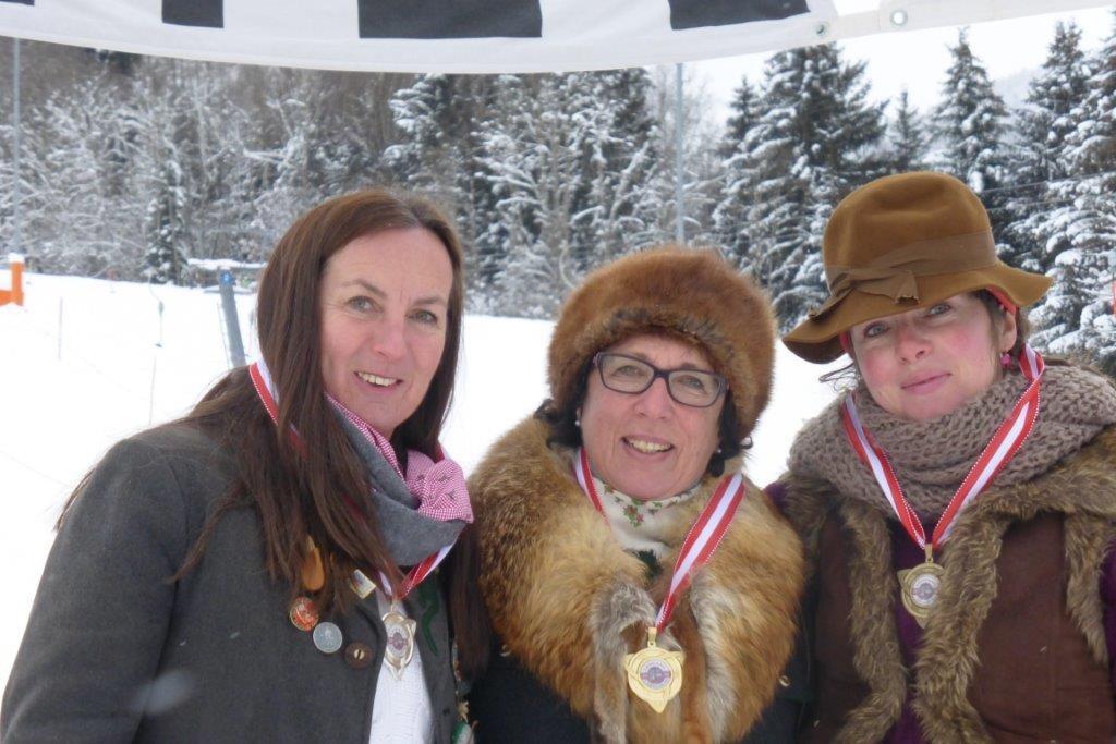 Gratulation Silvia! Nostalgie-Schi-Weltmeister 2016